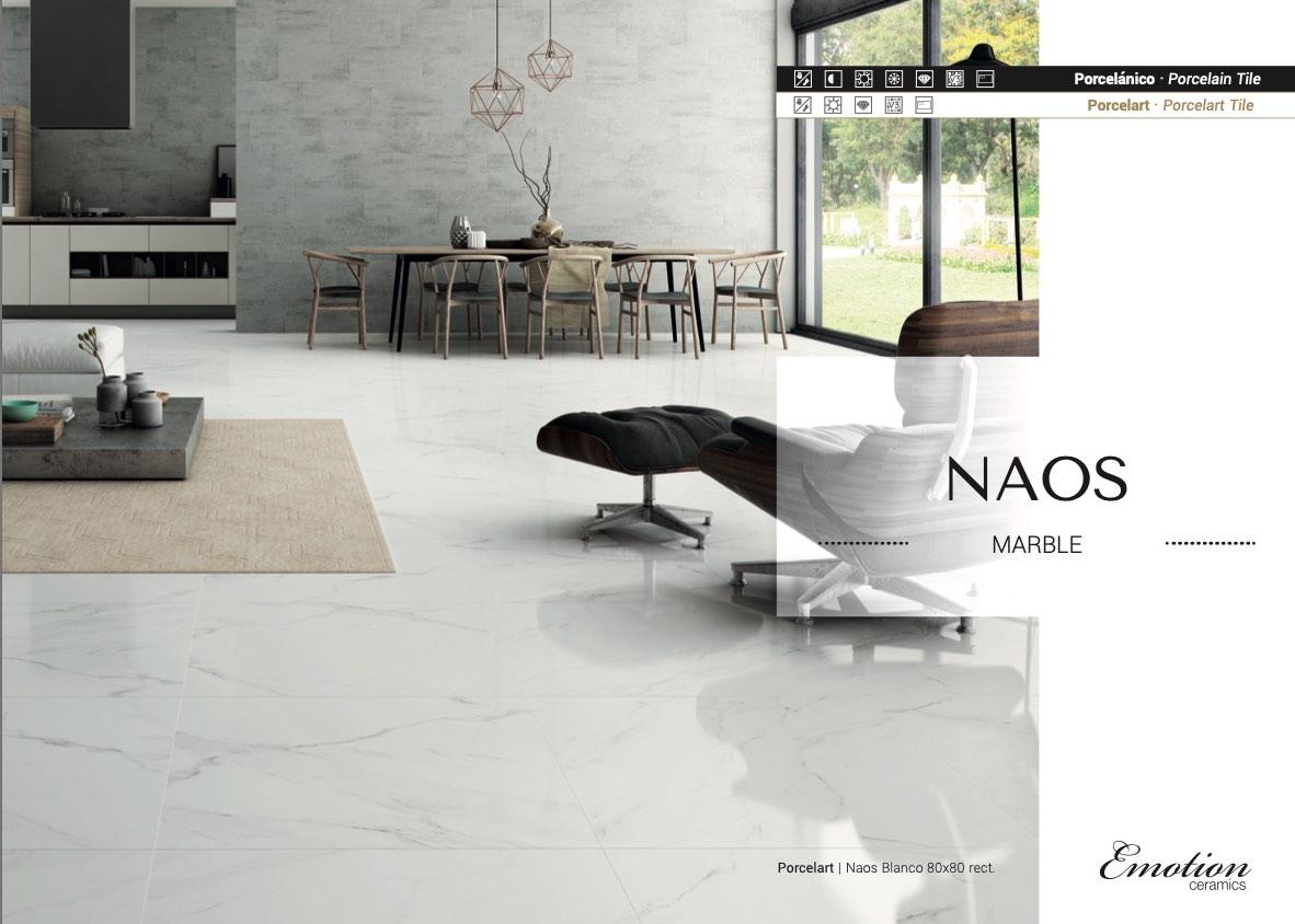 32x32 naos white matte tile tiles