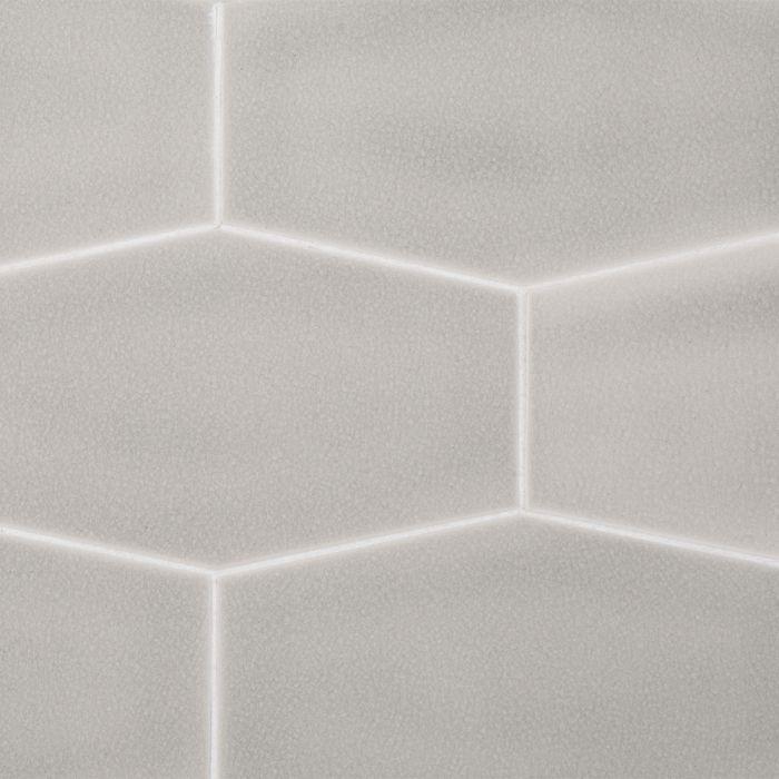 atlas riverwash elongated hex ceramic tile