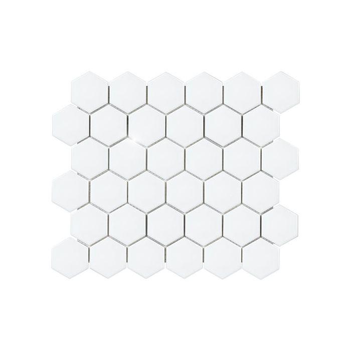soho white 2 hexagon matte