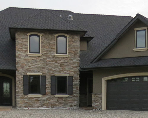 Mason Series Ledgestone installed on a house exterior