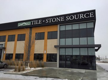 Tile and Stone Source Edmonton Store Front