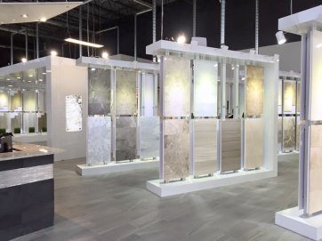 Edmonton Porcelain Rack displays