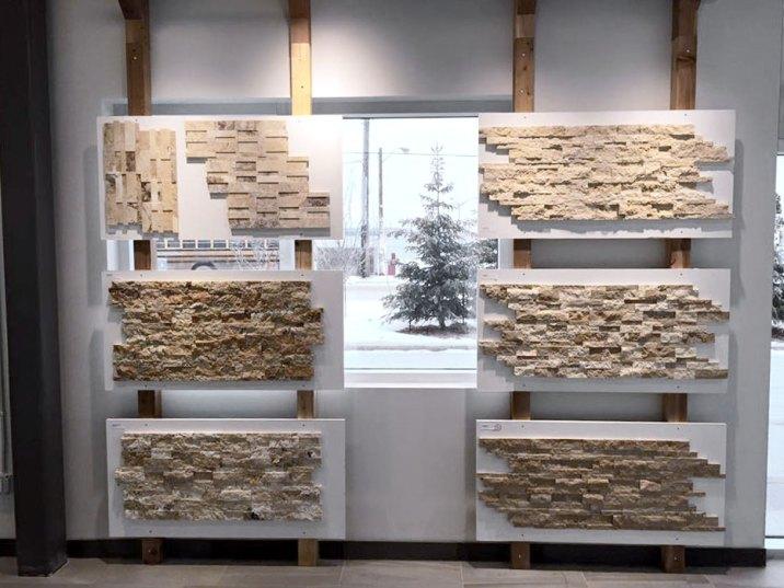 Edmonton Ledgestone Display