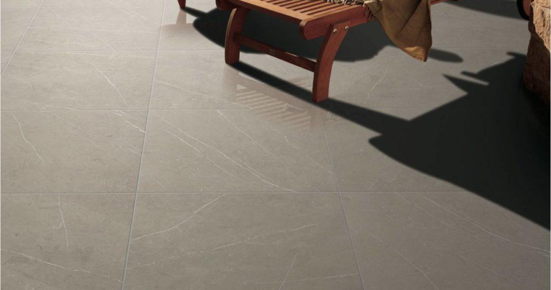 Marquina Slate Porcelain Tile installed