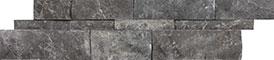 Stark Carbon 6x24 Ledgestone Splitface