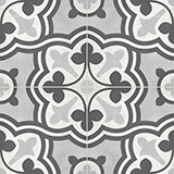 Form Baroque 8x8 Ice Deco Matte