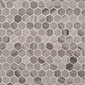 """Jeffrey Court Transitional Taupe 1"""" Hexagon Honed"""