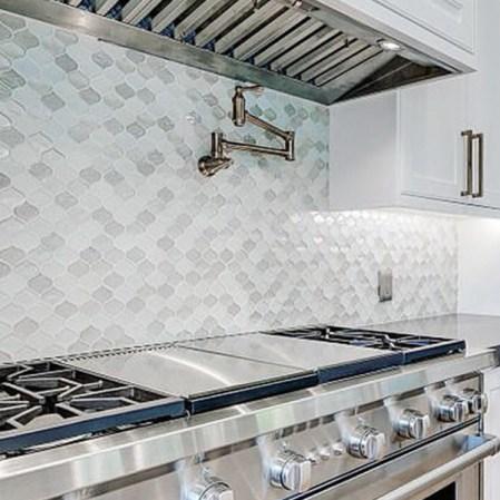 JC-10119 Droplet Diamond Kitchen Install