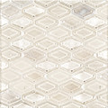 Jeffrey Court Champagne 12x12 Beveled Elongated Hex Speciality