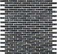 Jeffrey Court Titanium 12x12 Glisten Glossy