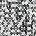 """Jeffrey Court Silhouette 12x12 5/8"""" Hexagon Speciality"""