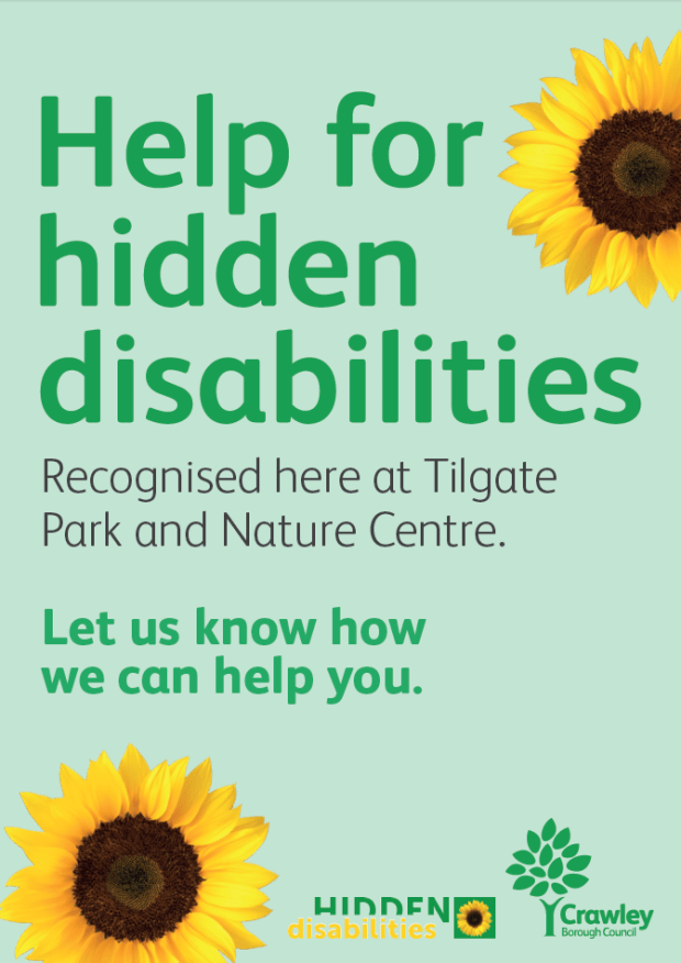 Hidden Disabilities Sunflower Scheme