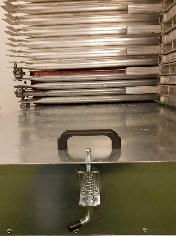 Titan aluminiumstillas detalj