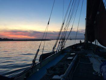 River Colne Sailing Sunset