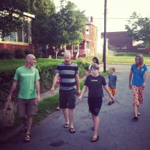 Walk with the Gladding Family