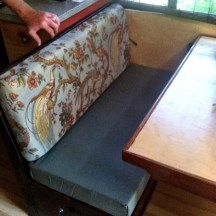 Bus Conversion Upholstery