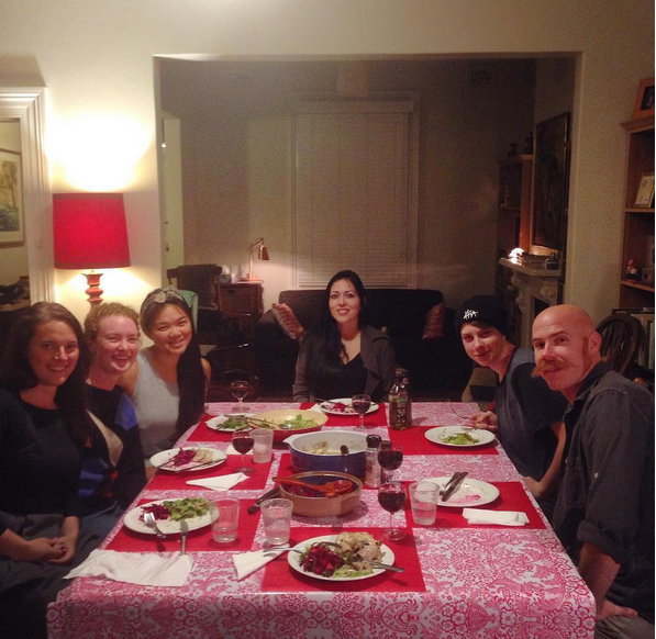 Last supper with the Gleebox Girls