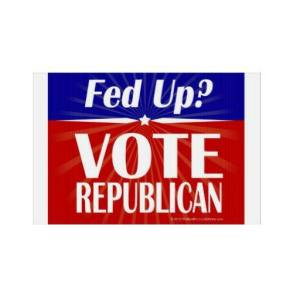 fed up vote republican
