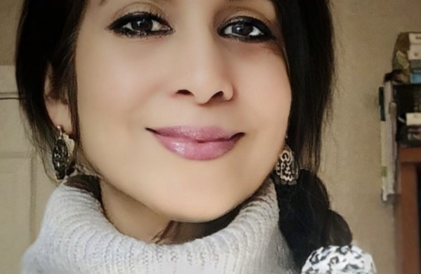 Roohi Vohra the poet smiling
