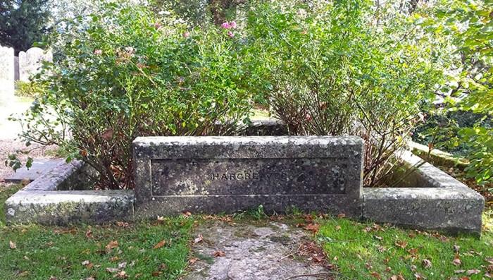 Alice's grave