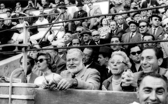 Hemingway's fascination for bullfighting