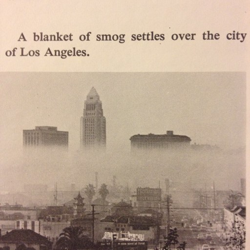 LA Smog from the 1960s