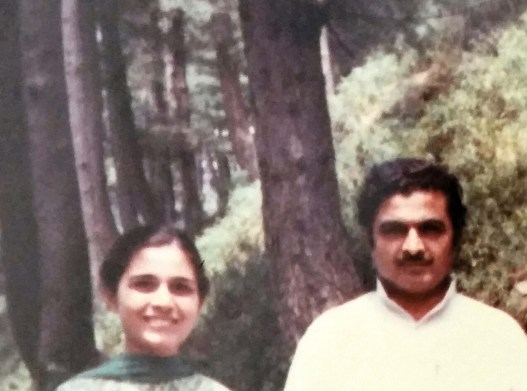 My late father and me