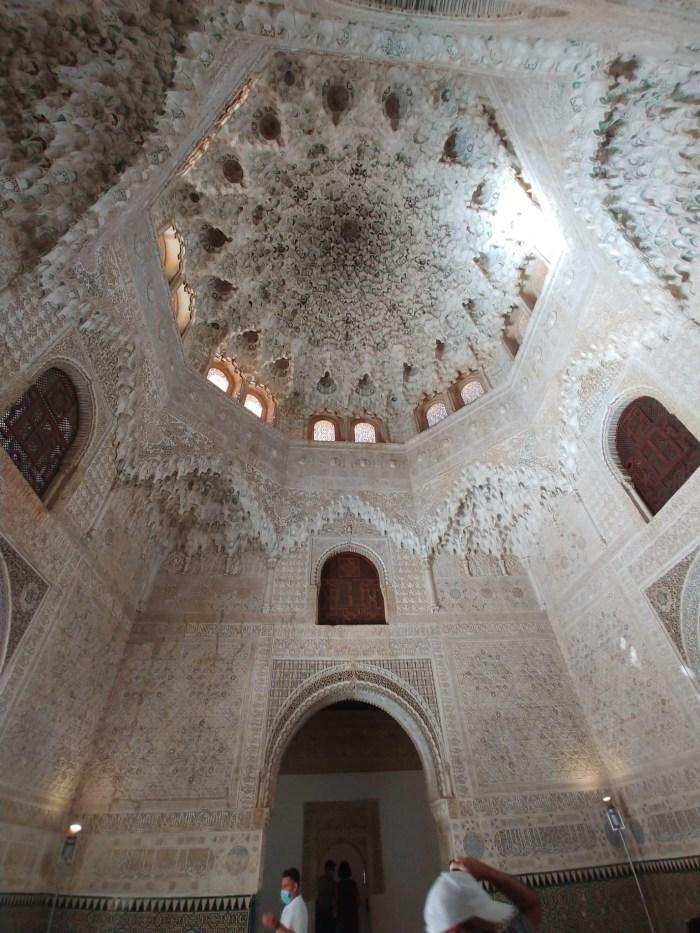 The ceiling of the Hall of Two Sisters