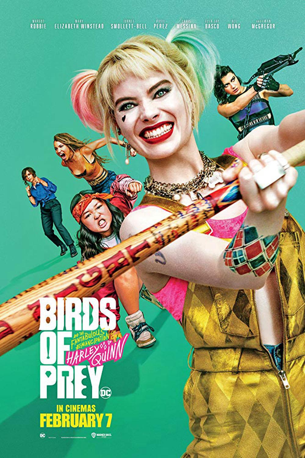 Joker macht mit Harley Quinn und Cat Woman rum