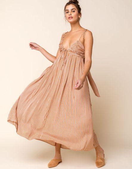 Amuse Society Fern Midi Summer Dress