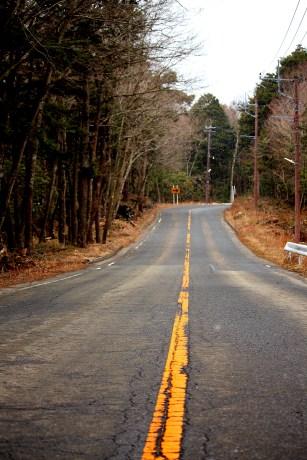Empty exit roads