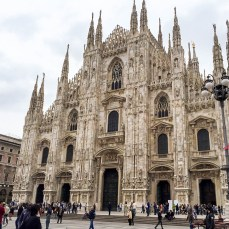 Another angle of the Duomo.