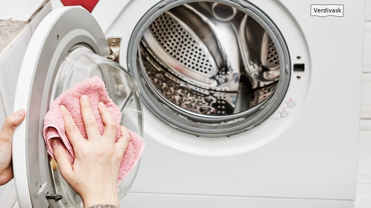 Vaskemaskin for verdivasking