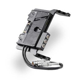 Lightweight Side-Mount Battery Plate for Arri Alexa Mini
