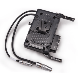 Lightweight Side-Mount Battery Plate for Arri Alexa Mini