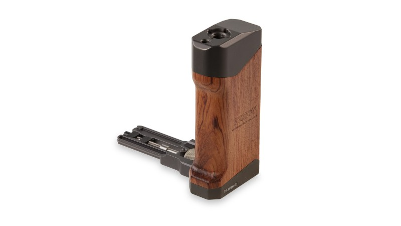 Wooden Side Handle for BMPCC4K - Front - (TA-WSH-MHC3)