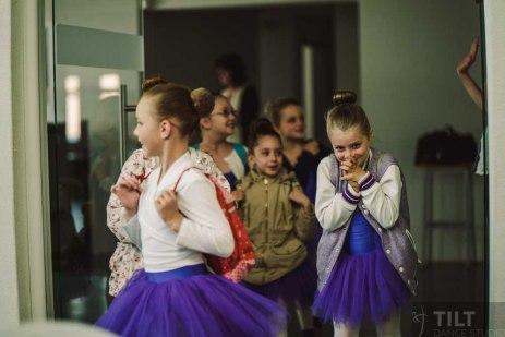 Aufregung vor Tanzaufführung