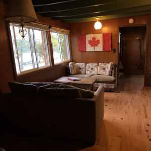 cabin two living area