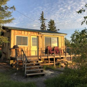 cabin three exterior