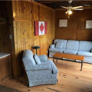 cabin three living area