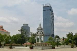 Highrise near Wat Phnom