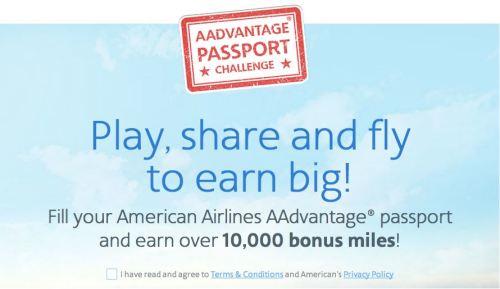 AA Passport Challenge Pic