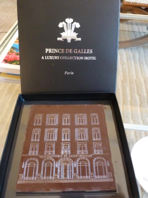 Prince de Gaulles Hotel - Welcome Gift