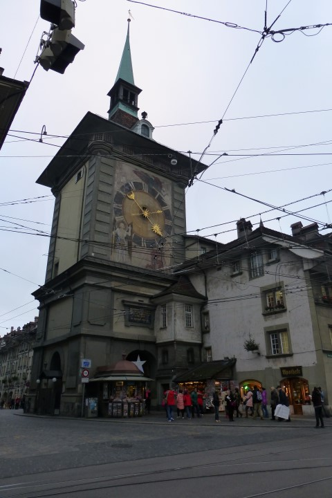 Old Town Bern Clock Tower