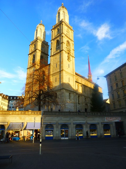 Tour of Zurich - Grossmünster