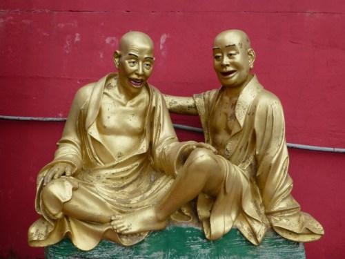 We're just friends Buddha