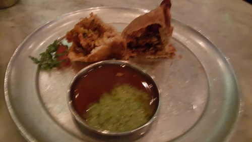 The Butter Chicken Samosa