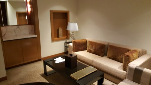 Sitting Room in our Executive Suite