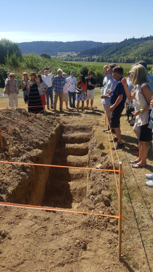 Checking Out The Different Soil Levels at Coeur de Terre