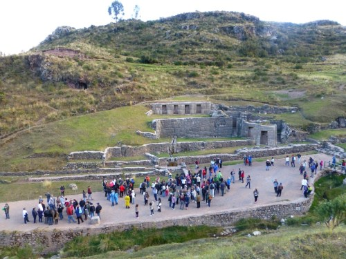 Tourist haven - above Cusco
